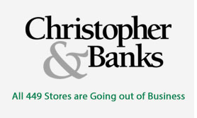 Christopher Banks Fixtures for Sale!